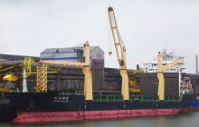 M/V HUANGHAI DEVELOPER Caught in the Net