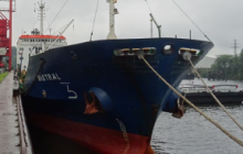 M/V MISTRAL - IMO No. 9045651 - Caught in the Net